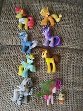My little pony friendship is magic collection bundle of 8 Figures Cake toppers