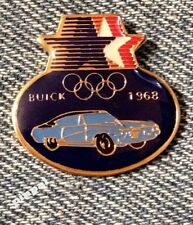 Olympic 1984 Los Angeles Sponsor Pin~Commemorative~1968 Buick~Cars Auto