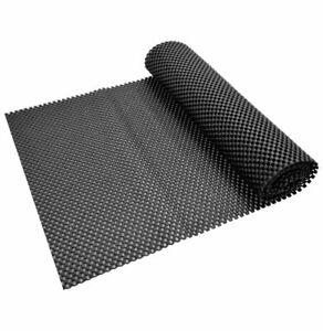 30 x 175cm Non-Slip Sheet Sheeting Anti Slide Dash Mat Rug Grip Black Underlay