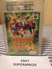 Donkey Kong 64 W/ Expansion Pak JAPAN RELEASE VGA 85+ QUALIFIED ARCHIVAL CASE