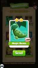 1x Magic Beans Coin Master  cards   Fast Dispatch