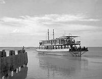 "1938 Ferry, Key West, Florida Vintage Old Photo 8.5"" x 11"" Reprint"
