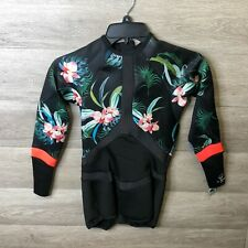 Rip Curl Womens Size 8 Madi 1mm Long Sleeve Boyleg Shorty Wetsuit Coral NEW