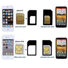 4 Set 4x Tiroir Support Plateau Logement Pr iPhone Samsung Carte SIM Holder Mode