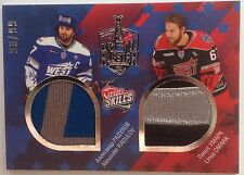 2015-16 SeReal Platinum Collection KHL All star game jersey Radulov Omark 93/99