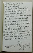 Du Sang sur la Route Maurice BIDAUX 1984 DEDICACE
