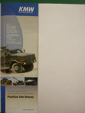 6/08 PUB KRAUSS MAFFEI WEGMANN BUNDESWEHR ARMOURED WHEELED TRACKED VEHICLES AD