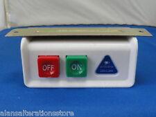 MACCHINA da cucire incorporato INDUSTRIALE TRIFASE 10 Amp Interruttore ON/OFF
