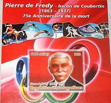 MADAGASKAR MADAGASCAR 2012 unlisted Baron de Coubertin Olympics Games Sport MNH
