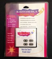 Dr. Martin Luther King Jr. MLK Educational Electronic Tutor Free Shipping!