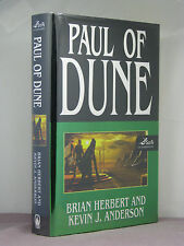 1st, signed by both, Paul of Dune by Brian Herbert & Kevin Anderson (2008)