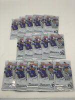 (15) 2020 Bowman MEGA Box Bowman 10 Card Packs - LOT of 15 - FREE SHIP
