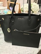 Michael kors Trista Large Drawstring Shoulder Tote with Zip Clutch Msrp 348 NWT