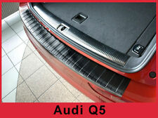 2006-2017 Audi Q5 SQ5 Graphite Black Stainless Steel Rear Bumper Protector Guard