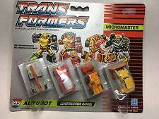 Transformers Micromasters Decepticon Race track Patrol Vintage Hasbro Takara