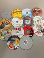 DVD movie Lot 16 DVDs, DISCS ONLY Untested B39