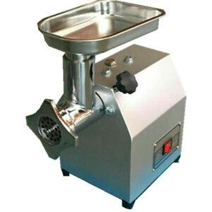 Meat Grinder Electric Mincer Commercial 400W Mincer Sausage Maker Filler 60kg/h