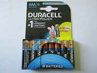 24x AAA Ultra Power Alkaline Batterie Duracell AR2088