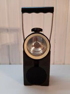 DB Handlampe Lampe Signalleuchte Eisenbahnlampe CEAG weiss/rot mit Werkzeug