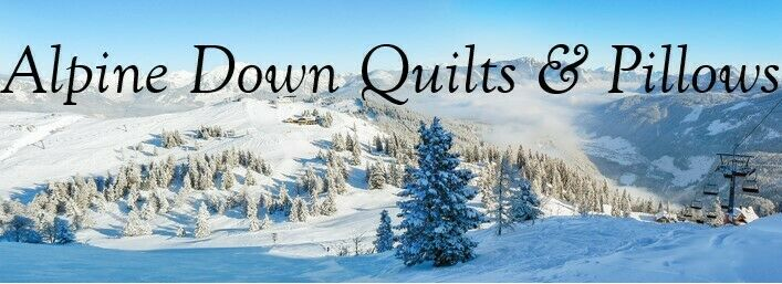 Alpine Down Quilts and Pillows