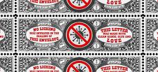 Letter Writers! - Virus Envelope Seal/Stamp - Artistamp - Show You Care!