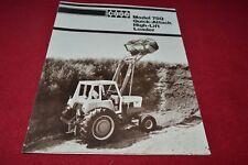 Case Tractor 75Q High Lift Loader Dealer's Brochure YABE15