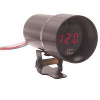 37MM Digital Smoked Lens Exhaust Gas Temperature Gauge EGT Gauge Black