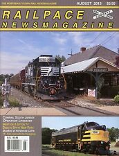 Railpace NewsMagazine August 2013 Vol 32 No 8 Grafton & Upton F7 New Paint