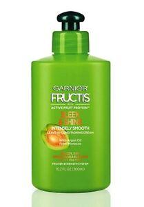 Garnier Fructis SLEEK & SHINE Intense Smooth Leave -in Conditioner 10 oz (300mL)