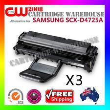 3 x SCX-D4725A Cartridge Toner for Samsung SCX4725FN Samsung SCX4725F Printer