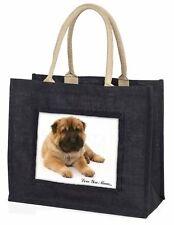 Shar-Pei Dog 'Love You Mum' Large Black Shopping Bag Christmas Prese, MUM-D11BLB