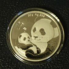 China 10 yuans Panda 2019 silver 999 (30 g)