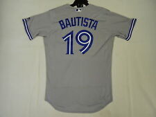 Majestic AUTHENTIC 48 XL TORONTO BLUE JAYS JOSE BAUTISTA FLEXBASE ONFIELD JERSEY