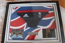 Autographed London 2012 Olympics Memorabilia Clothing