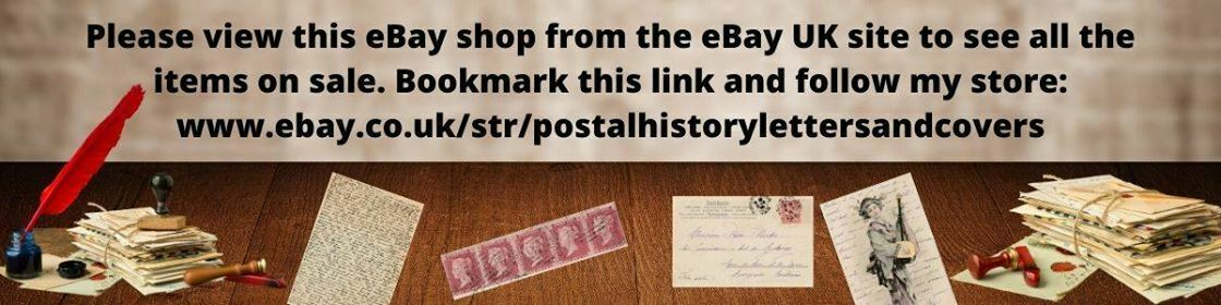 POSTAL HISTORY LETTERS AND COVERS