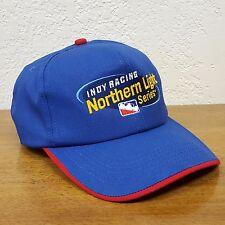 Indy Racing League Northern Lights Series Blue Adjustable Ball Cap Trucker Hat