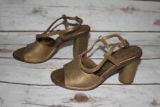 New Roberto Del Carlo Chunky Heel Sandals (US Size 6)