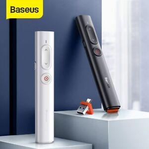 Présentateur télécommande sans fil 2.4GHz USB et USB C stylo pointeur Laser