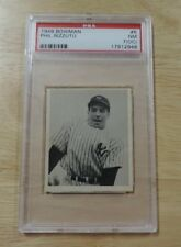1948 BOWMAN #8 PHIL RIZZUTO ROOKIE RC HOF NEW YORK YANKEES PSA 7 NM BOOK $350
