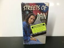 Streets Of Pain - VHS - Small Box - Video Tape #