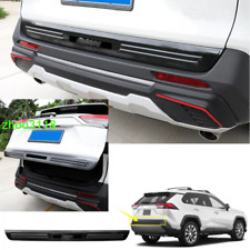 For 2019 -2020 Toyota RAV4 Carbon Fiber Look Rear Trunk Lid Gate Edge Cover Trim