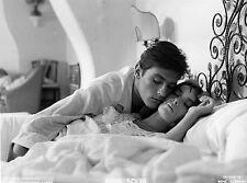 Photo originale Alain Delon Marie Laforêt Plein soleil baiser Clément Highsmith