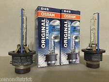 2X NEW PAIR OSRAM XENARC D4S 66440 ORIGINAL 6000K OEM HID XENON LIGHT BULBS