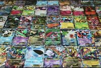 Pokemon Card Lot 150 OFFICIAL TCG Cards   Rare Cars Included + HOLOS+Code Cards