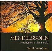 Felix Mendelssohn: String Quartets Nos. 1 and 2 {CD Album} New and Sealed