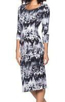 New Bodycon Dress Black Gray White Womens US Size Small S Medium M Large L