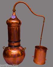 Columna alambique de cobre 20 L destilador