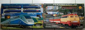 Modeleisenbahn Spur H0 Komplettset mehano mit 2 schönen Lokomotiven: TGV, DB