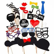 31PCS Props On A Stick Photo Booth Party Wedding halloween Christmas Birthday