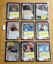 THE X-FILES PREMIERE EDITION CCG/TCG SLEEVE OF 9 x UNCOMMON CARDS  NEW/1996  (H)